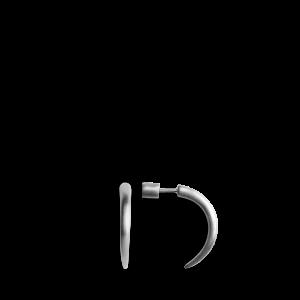 Horn | Lille | Mat sølv