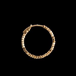 Small Bead Creole, forgylt sterlingsølv
