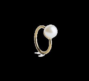 Small Pearl Twist earring