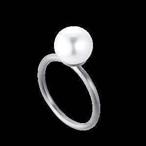 Perle Ring | Lille | Sølv