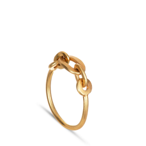 ROW | CHAIN RING | GOLD PLATED