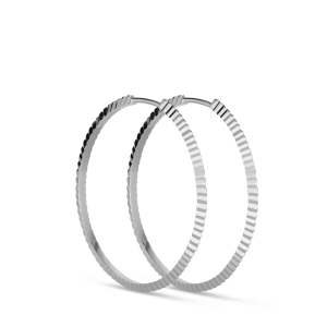 Reflection Hoop | Blank sølv