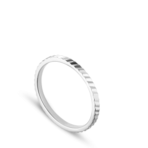 Small Reflection ring, sterling silver