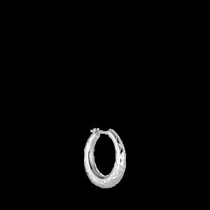 Rhombus earring, sterling silver