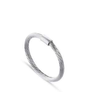 Salon Ring | Lille | Blank Sølv