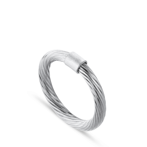 Salon Ring | Mellem | Blank Sølv