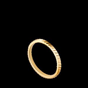 Small Reflection ring, forgylt sterlingsølv