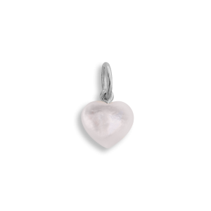 Small Souvenir Heart Pendant, sterling sølv