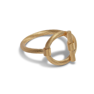 Souvenir Ring, gold-plated sterling silver