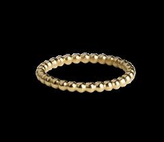 Small Ball Ring, vergoldetem Sterlingsilber