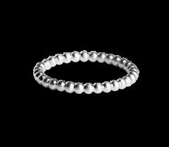 Medium Ball Ring, Sterlingsilber