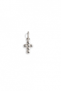 Cross Pendant with 6 Diamonds
