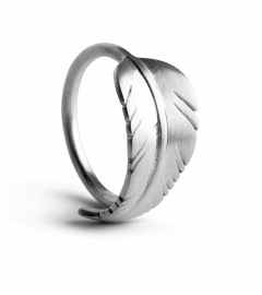 Leaf ring, Sterlingsilber