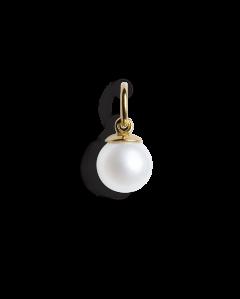 Small Pearl Pendant, forgylt sterlingsølv