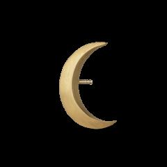 Big Half Moon Stud, förgyllt sterlingsilver