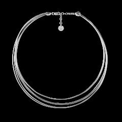 Wire Choker necklace, Sterlingsilber