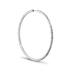 Big Envision Hoop, Sterlingsilber