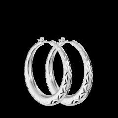 Rhombus | Stor | Blank sølv