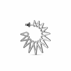 Sun Earring, Sterlingsilber