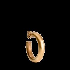 Chunky Hoop, forgylt sterlingsølv