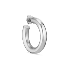 Shiny Chunky Hoop, sølv