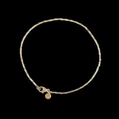 Corn chain bracelet, 18-karat gold