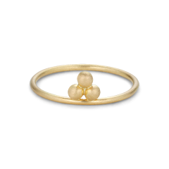 Temple Ring, 18 karat gull