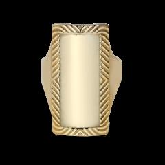 Impression Armour Ring, vergoldetem Sterlingsilber