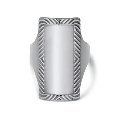 Impression Armour Ring, Sterlingsilber