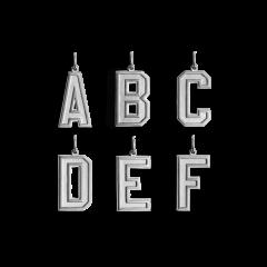 Buchstaben-Anhänger