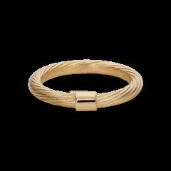 Medium Salon Ring, vergoldetem Sterlingsilber