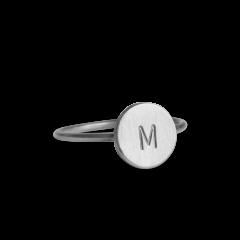 Lovetag Ring, Sterlingsilber