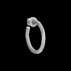 Salon Hoop ørering, sterlingsølv