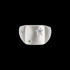 Star Signet ring, sterling sølv