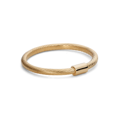 Small Salon Ring, vergoldetem Sterlingsilber