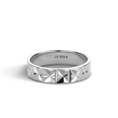 Medium Reflection ring, Sterlingsilber