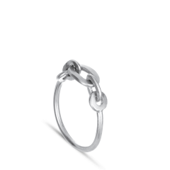 ROW   CHAIN RING   SILVER