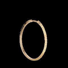 Reflection Midi hoop, forgylt sterlingsølv