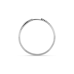 Reflection hoop, sterlingsilver