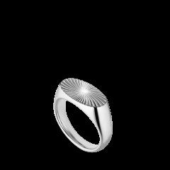 Reflection Signet ring, sterlingsilver