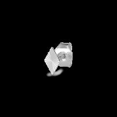 Reflection Rhombe Stud, sterlingsølv