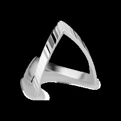 Reflection V Ring, sterlingsølv