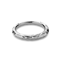 Small Impression ring, sterling silver, SIR01HOL2000-S