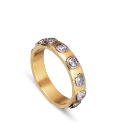 Square Diamond Dream, 18 carat gold