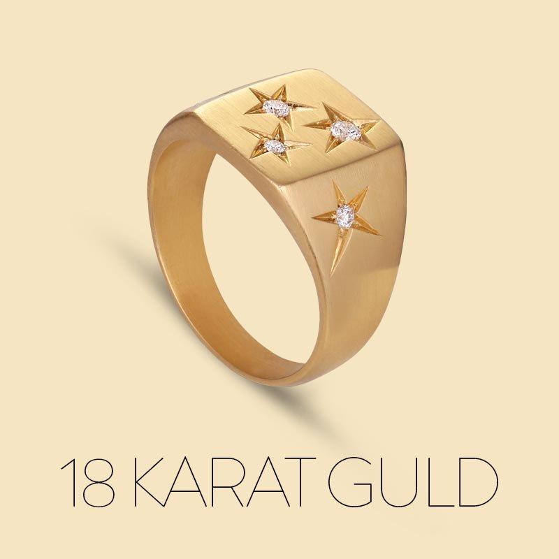 18 karat guld