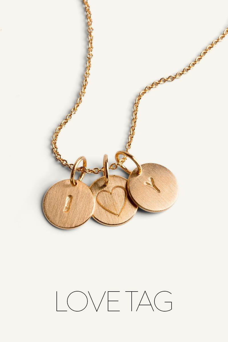 De ikoniske Love Tag smykker